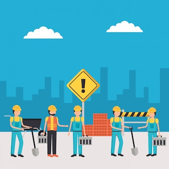 Sprzęt budowlany dla pracowników