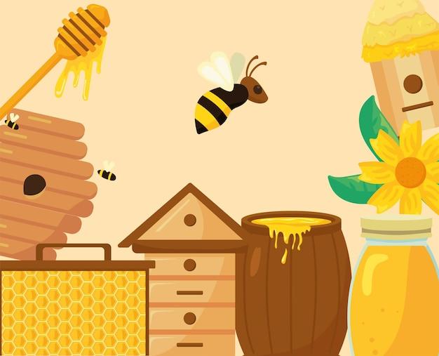 Sprzęt do narzędzi pszczelarskich