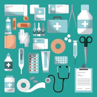 Sprzęt medyczny pierwszej pomocy