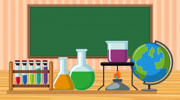 Sprzęt naukowy w klasie