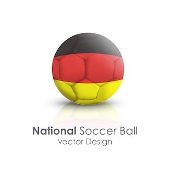 Sprzęt rekreacyjny piłka nożna gra narodowa