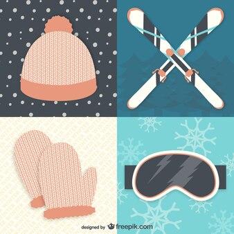 Sprzęt zimowy i narty