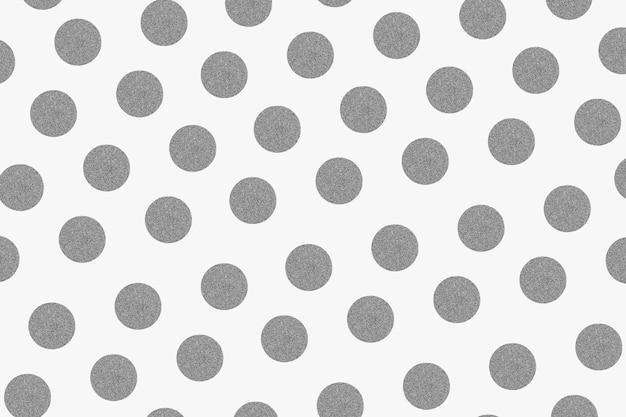 Srebrny brokatowy wzór tła w kropki