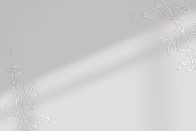 Srebrny kwiatowy tło