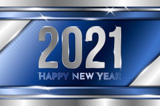 Srebrny nowy rok 2021