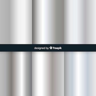 Srebrny tło gradientowe