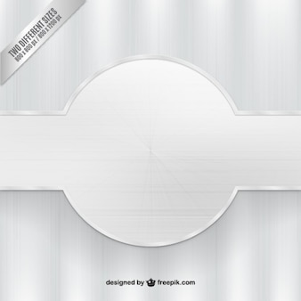 Srebrny tło z banerem
