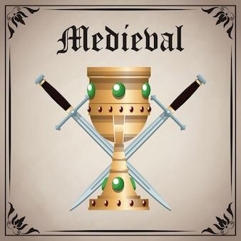 Średniowieczne godło insygnia