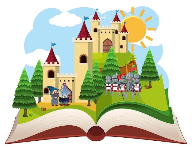 Średniowieczny motyw otwartej księgi