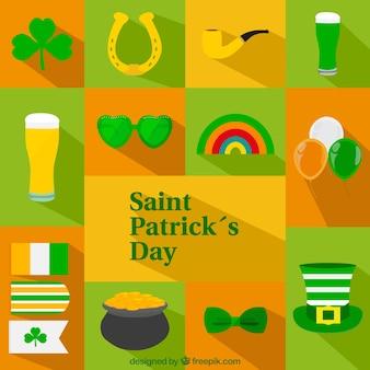 St patricks day ikony