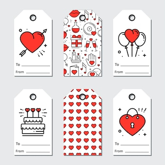 St valentine's day tagi prezentowe