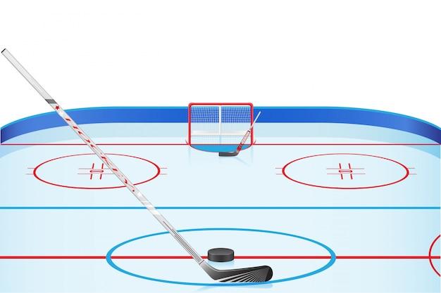 Stadion hokejowy.