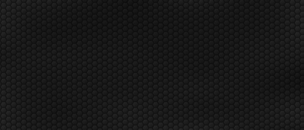 Stalowe rzędy sześciokątów tło geometryczne wielokątne płytki