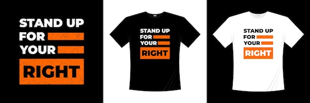 Stanąć w obronie odpowiedniego projektu koszulki typograficznej