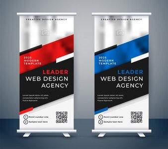 Standee design do prezentacji biznesowych