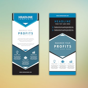 Standee max profite business banner