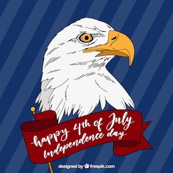 Stany zjednoczone dzień niepodległości celebracja tło