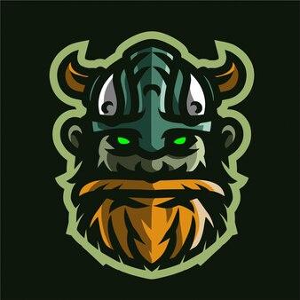 Stara głowa wikingów