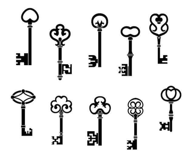 Stare i zabytkowe klucze