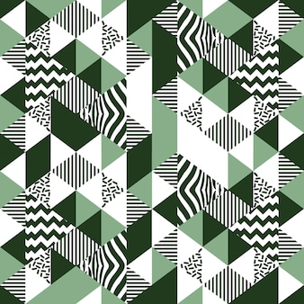 Starodawny stary wzór trójkąta memphis