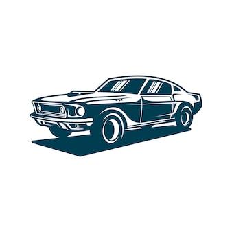 Staromodny samochód