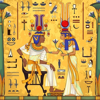 Starożytny egipski symbolikona religiiegipt deiteiskulturaelement projektu
