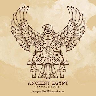 Starożytny egipt tło