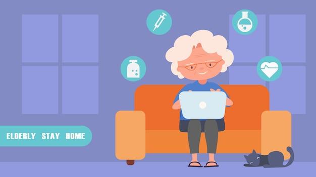 Starsze kobiety znajdź informacje medyczne kontakt online z lekarzem.