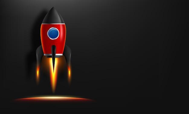 Start rakiety.