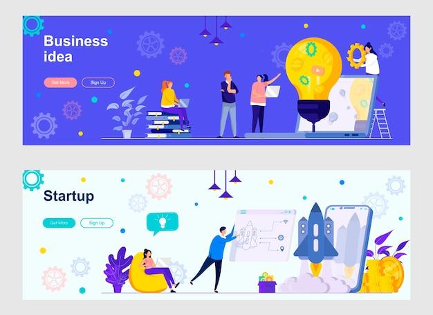 Startup uruchamiający zestaw stron docelowych