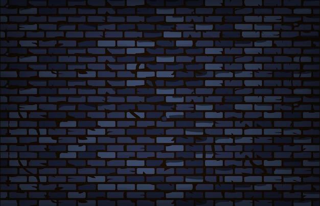 Stary grunge ściana z cegieł tło