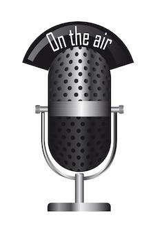 Stary mikrofon