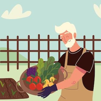 Stary rolnik