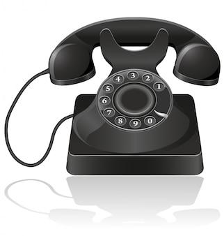 Stary telefon.