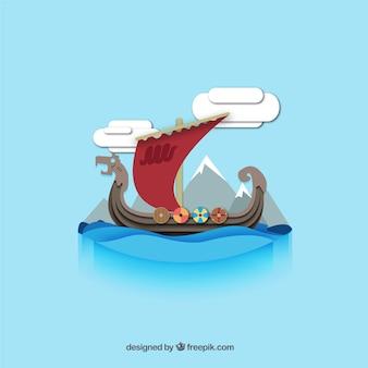 Statek wikingów