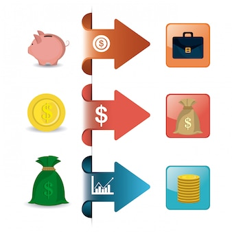 Statystyki dotyczące wzrostu gospodarczego i oszczędności pieniężnych