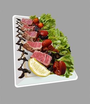 Stek na obiad