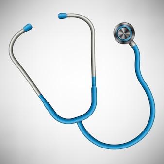 Stetoskop medyczny opieki zdrowotnej.