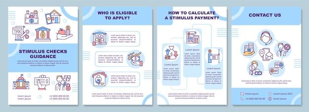 Stimulus sprawdza szablon broszury z wytycznymi