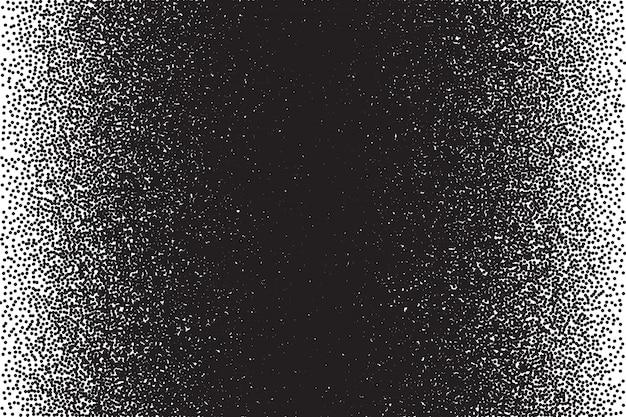 Stippled tekstury dotwork tło wektor