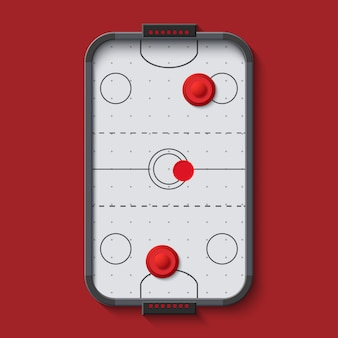 Stół do hokeja na powietrzu