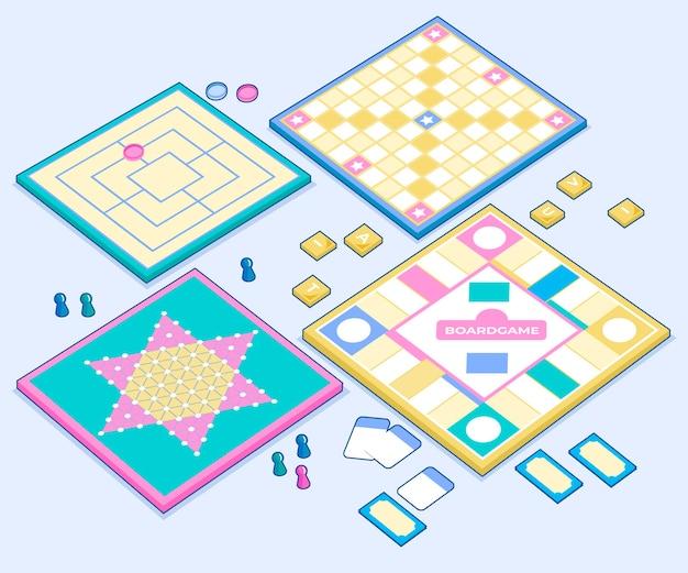 Stowarzyszenie kart i pionków gier planszowych