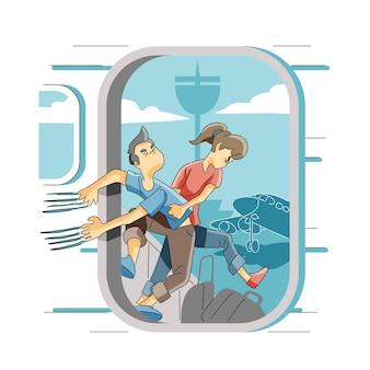 Strach przed lataniem lub aerofobią