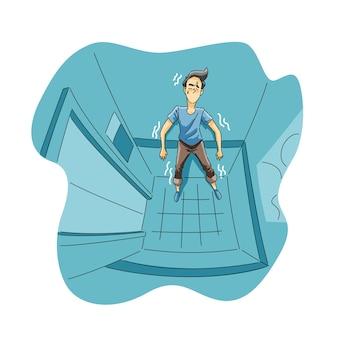 Strach przed ograniczoną przestrzenią lub klaustrofobia
