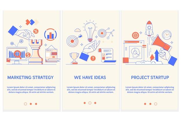 Strategia Marketingowa Premium Wektorów