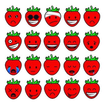 Strawberry feelings and emotions