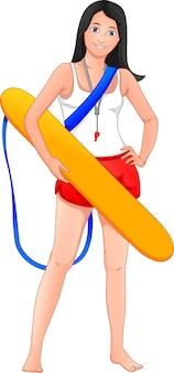 Straży przybrzeżnej kobiety