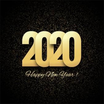 Streszczenie 2020 nowy rok pozdrowienie tła