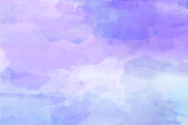 Streszczenie akwarela fioletowe tło