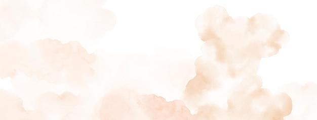 Streszczenie akwarela ręcznie malowane na tle. pomarańczowo-żółta akwarela plamy tekstura wektor jest idealna do elementu dekoracyjnego nagłówka, broszury, plakatu, karty, okładki lub banera letniego.